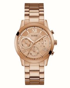 Reloj Guess para Dama Solar Oro Rosado