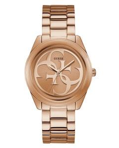Reloj Guess G Twist para Dama Acero Oro Rosa