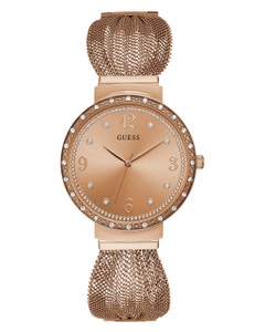 Reloj Guess Chiffon para Dama Oro Rosa