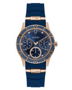 Reloj Guess Valencia Dama Azul/Oro Rosa para Dama