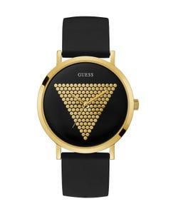 Reloj Guess Imprint para Caballero Negro/Oro