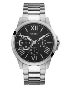 Reloj Guess Orbit Caballero Negro/Plata para Caballero