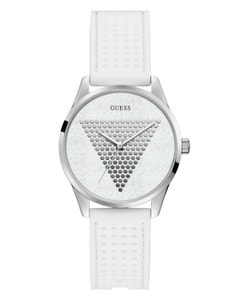 Reloj Guess Mini Imprint para Dama Plata/Blanco