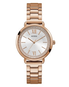 Reloj Guess Posh para Dama Oro Rosa