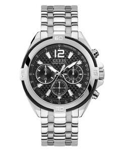 Reloj Guess Surge Plata/Negro para Caballero