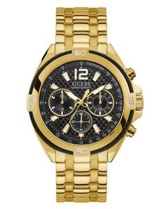 Reloj Guess Surge Dorado/Negro para Caballero