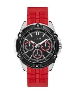 Reloj Guess Bolt para Caballero Negro/Rojo