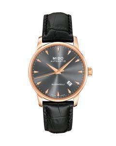 Reloj Mido Baroncelli Negro para Caballero