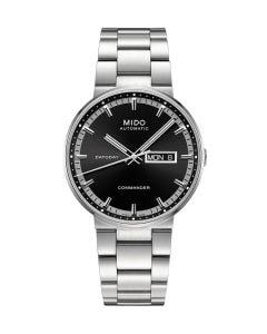 Reloj Mido Commander Caratula Negra para Caballero