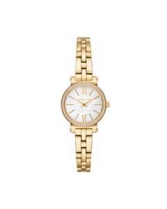 Reloj Michael Kors para Dama,Extensible Acero Dorado,Caratula Madre Perla,Analogo