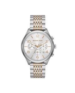 Reloj Michael Kors para Caballero Extensible Acero Multicolor Caratula Plata Analogo