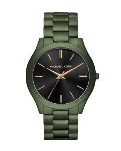 Reloj Michael Kors Slim Runway Para Caballero