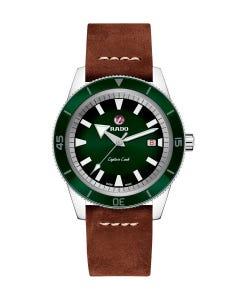 Reloj Rado Captain Cook Atm Piel Vde Cab 42mm 20bar