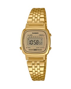 Reloj Casio Vintage LA670WETG para dama