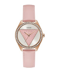 Reloj Guess Tri Glitz para Dama Rosa