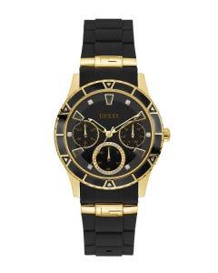Reloj Guess Valencia para Dama Negro/Oro