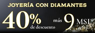 NUEVA COLECCIÓN LUMINISCENCIA JOYERÍA CON 40% DE DESCUENTO MÁS 9 MESES SIN INTERESES