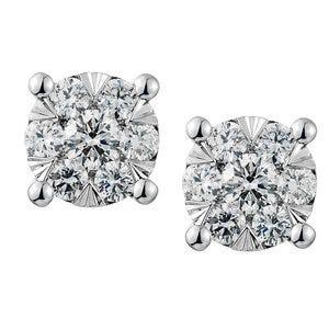 Broqueles de diamante