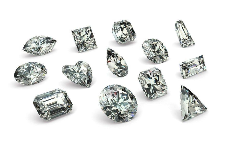 Cortes de un diamante