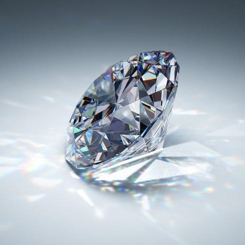 Fuego de un diamante