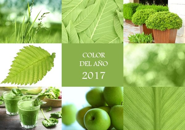 Greenery color del 2017