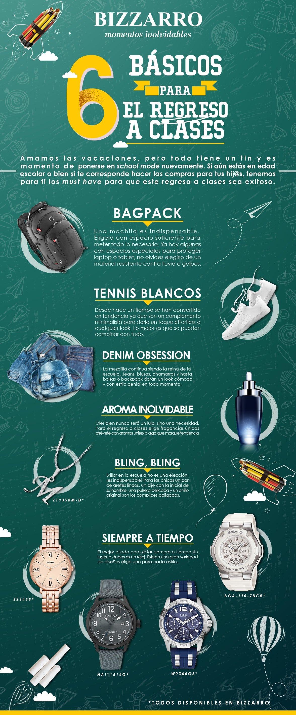 6 básicos para el regreso a clases