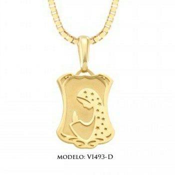 Medalla de oro amarillo