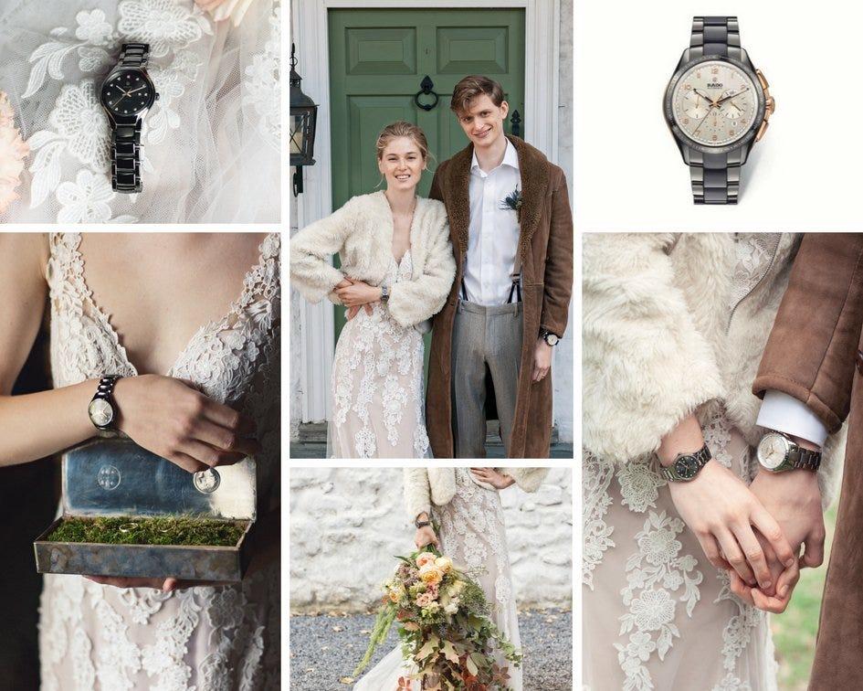 Rado para bodas bohemias
