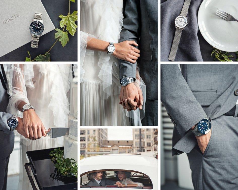 Rado para bodas urbanas