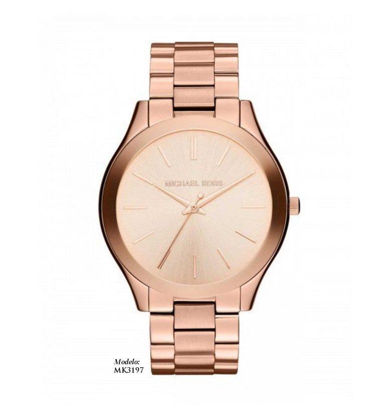 Reloj oro rosado Michael Kors