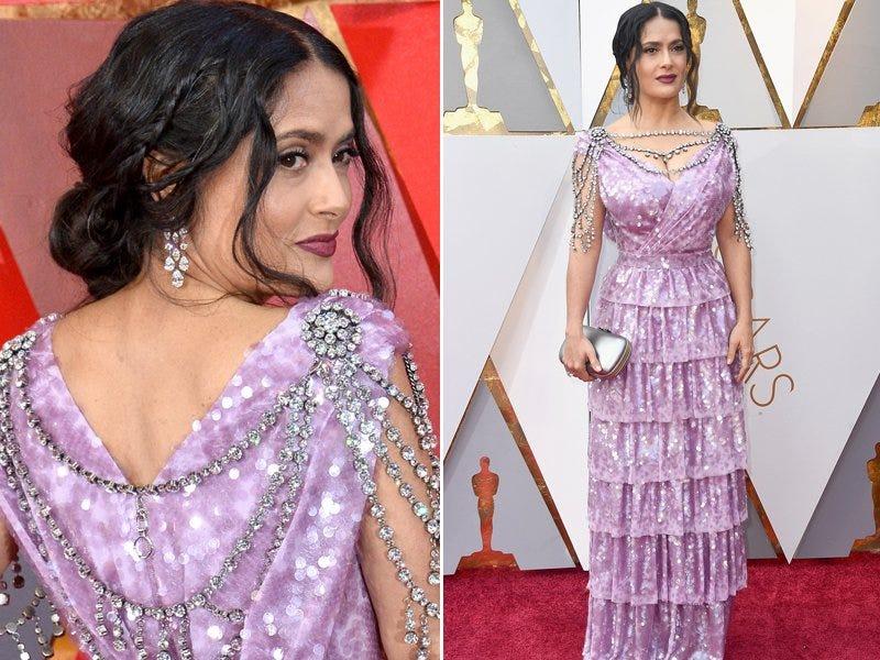 Salma Hayek Oscar 2018