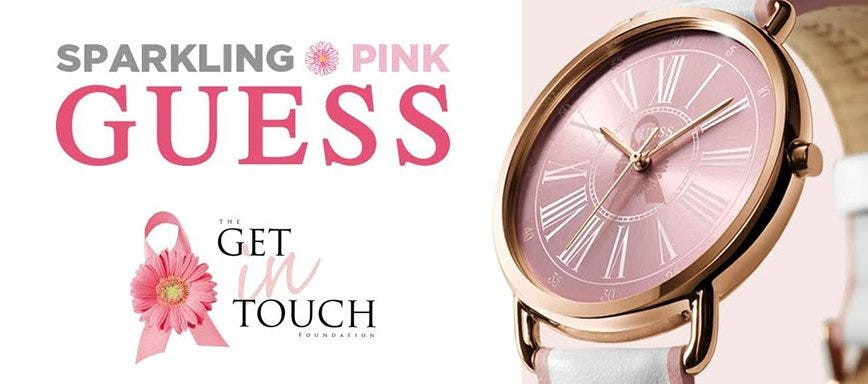 Reloj Sparkling Pink de Guess