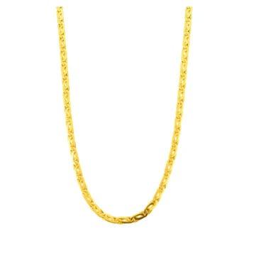 Cadena Italiana de Oro Amarillo 60 cm