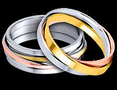 Joyerías Bizzarro - Argollas de Matrimonio